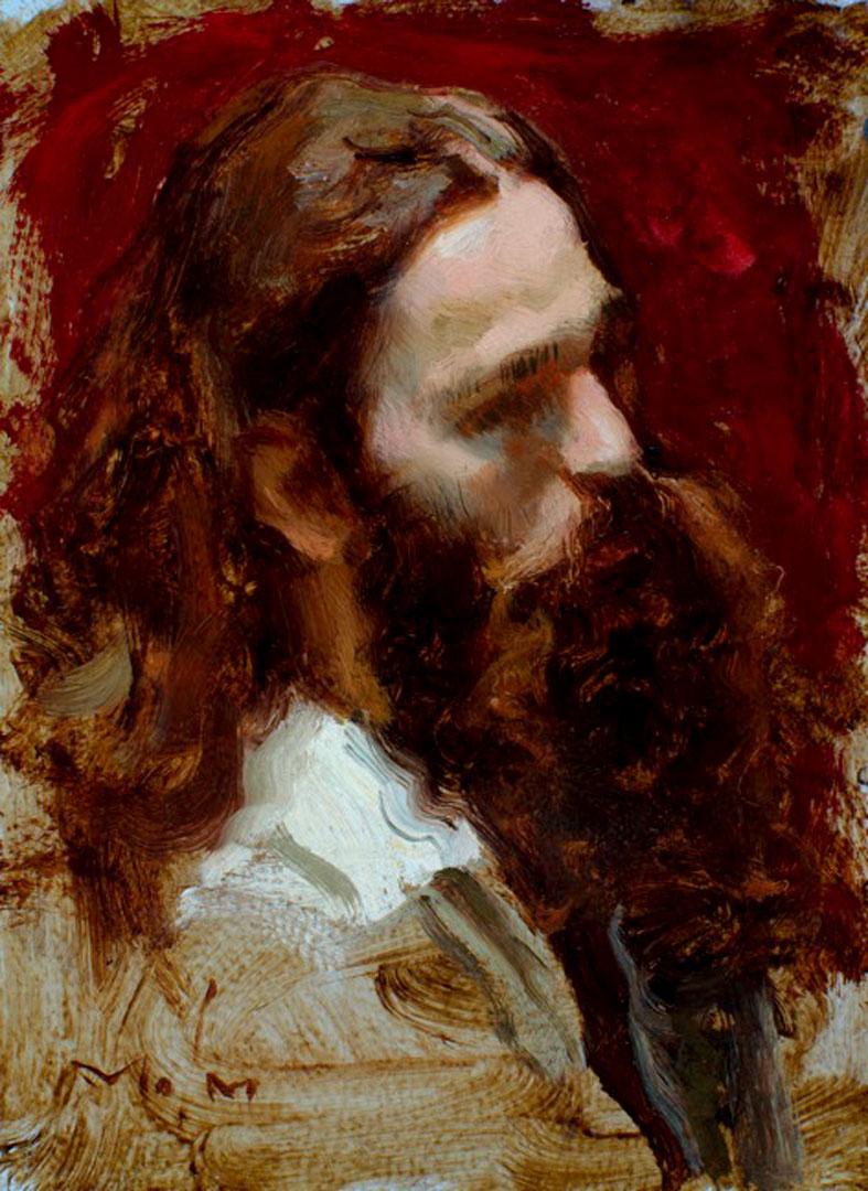 Montgomery-Lee Fine Art | Bearded Man