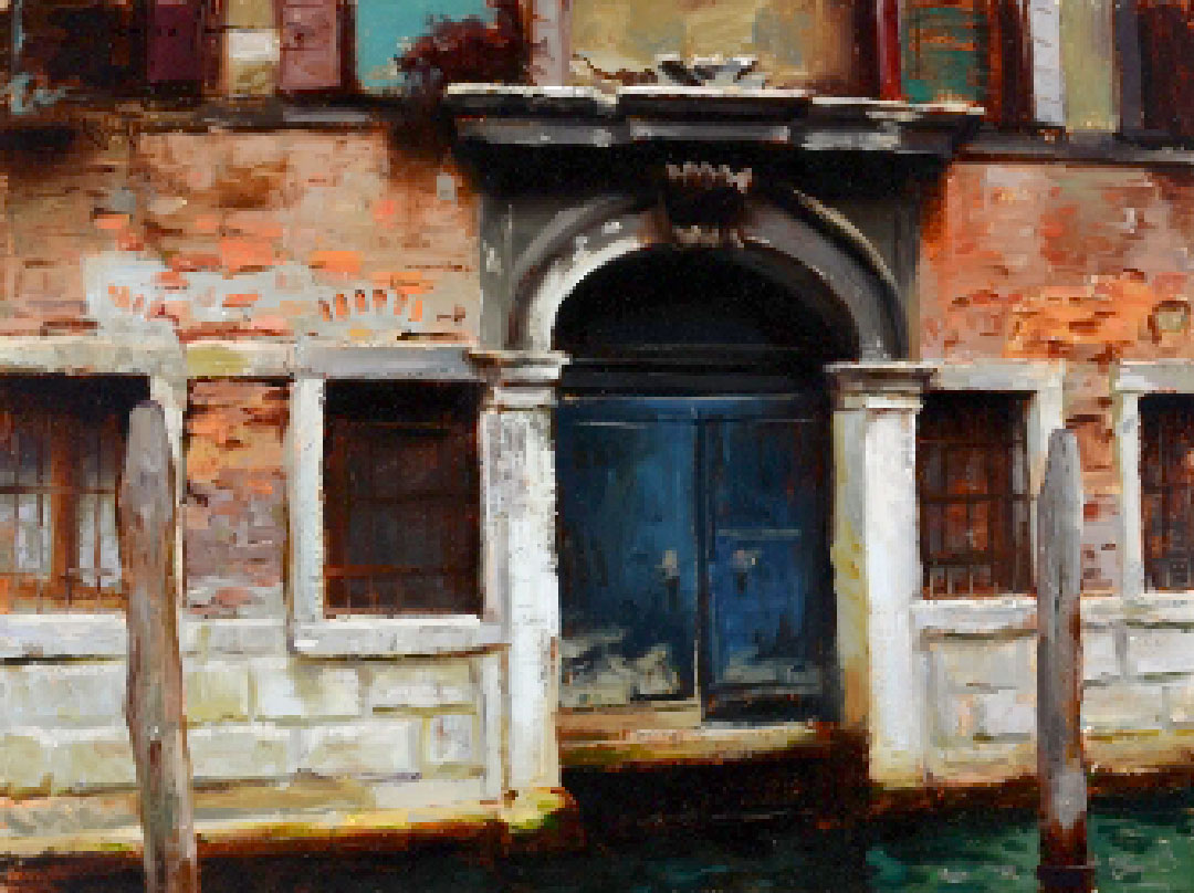 Montgomery-Lee Fine Art | Blue Door Venice
