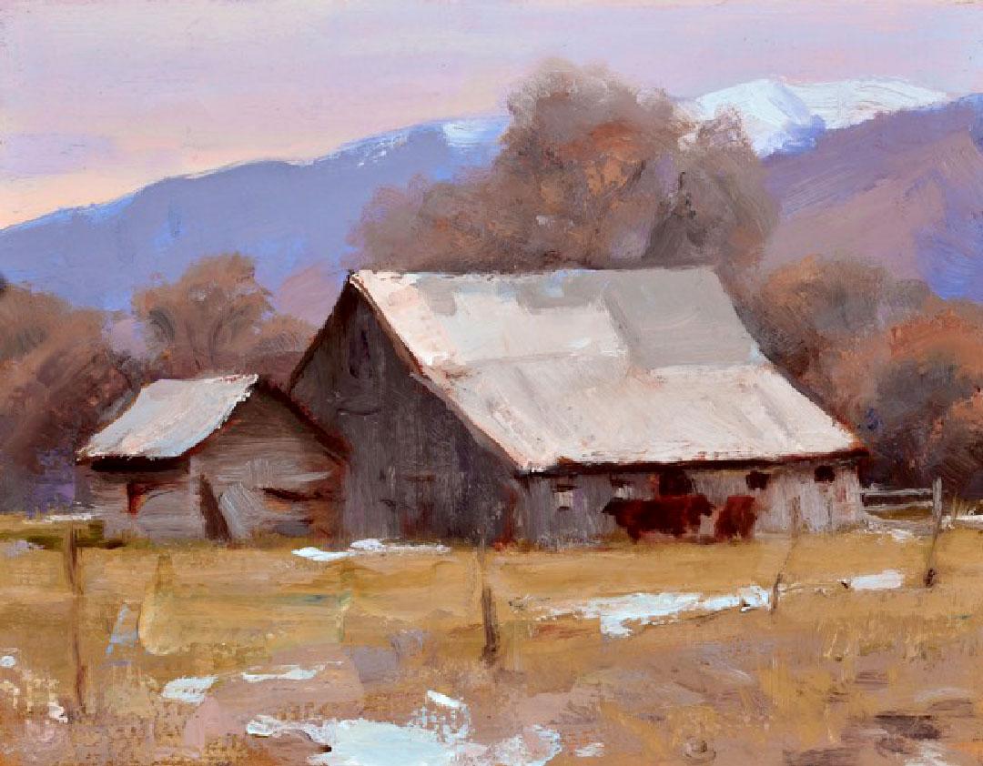 Montgomery-Lee Fine Art   Daves Barn