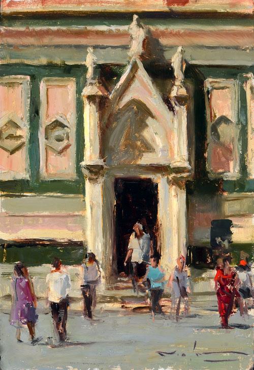 Montgomery-Lee Fine Art   Baptistry Doors - Florence