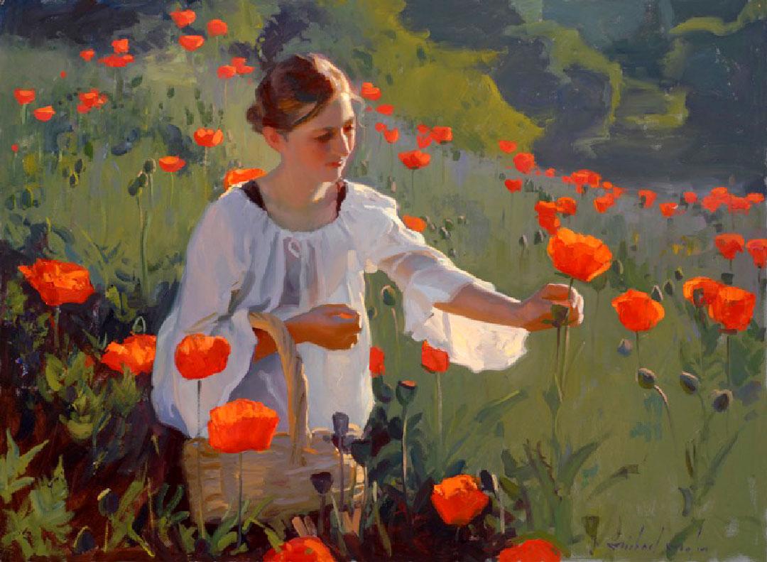 Montgomery-Lee Fine Art | Poppy Fields