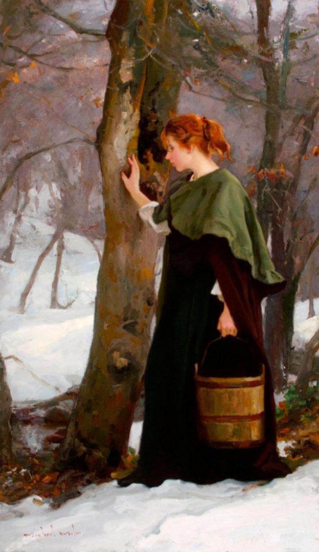Montgomery-Lee Fine Art | Winter Woods