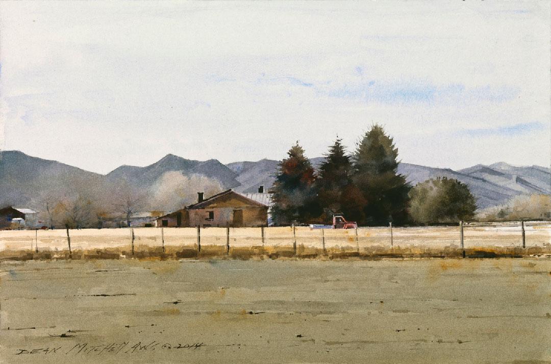 Montgomery-Lee Fine Art   Utah Farmlands