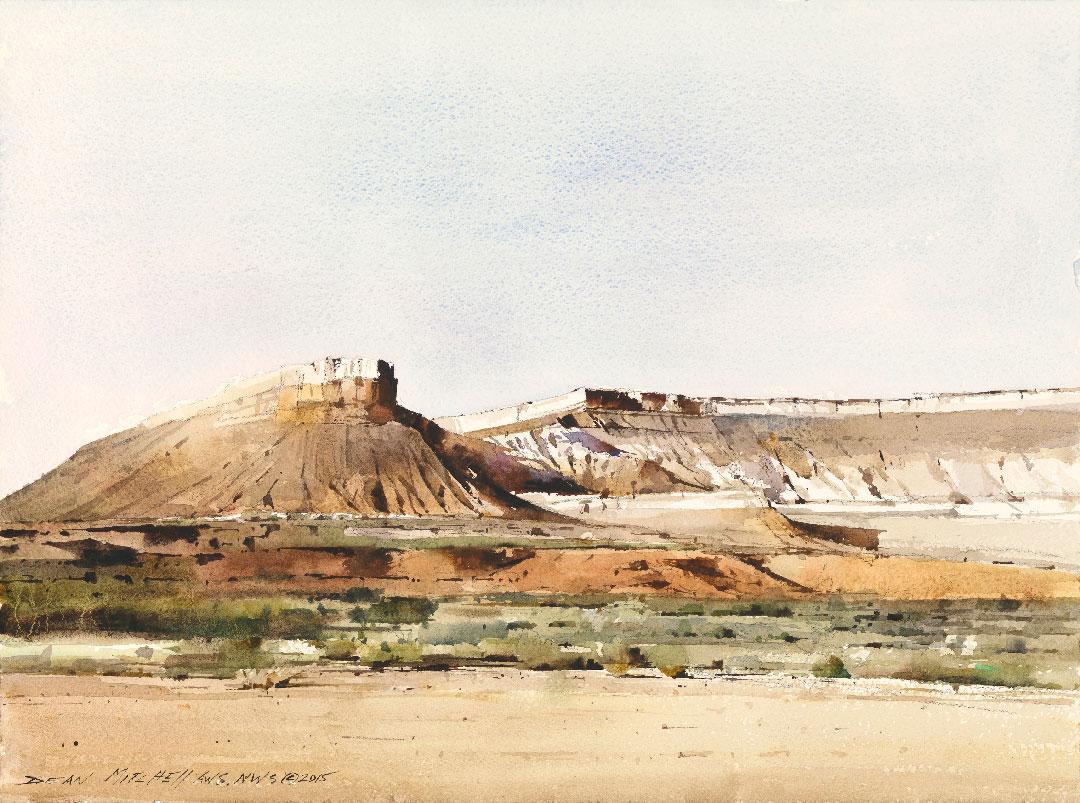 Montgomery-Lee Fine Art   Zion Mountains