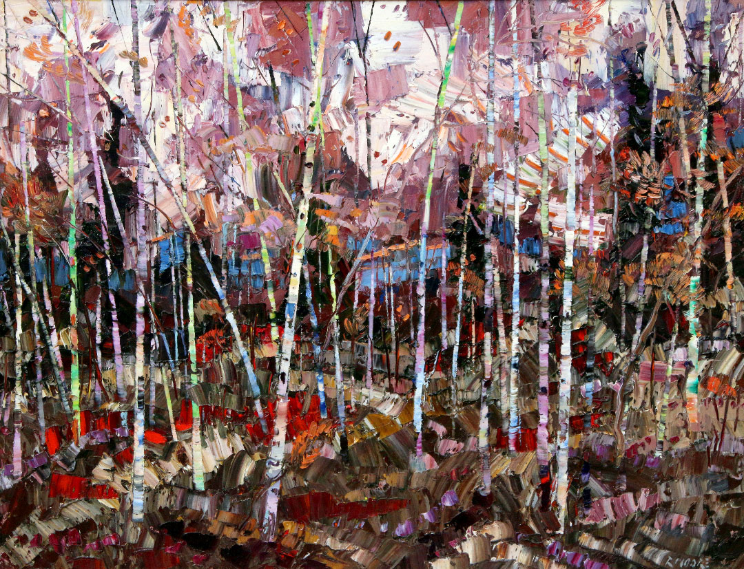 Montgomery-Lee Fine Art   Autumn in the Grove