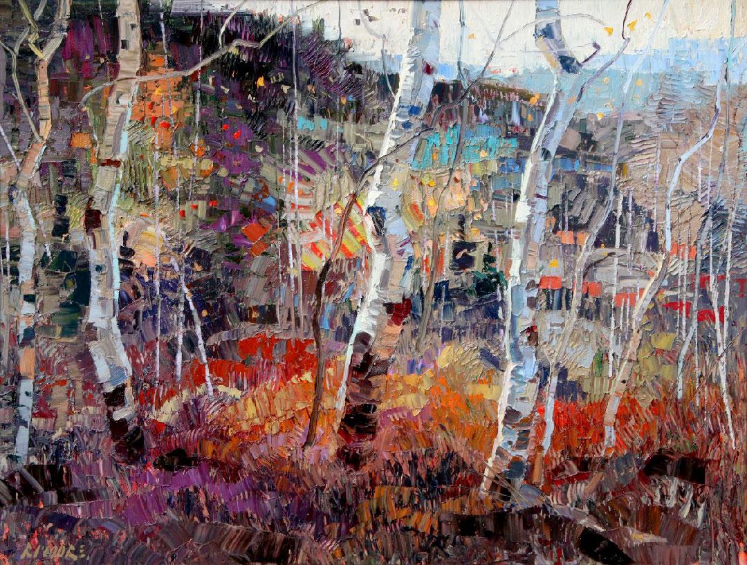 Montgomery-Lee Fine Art   Contrasts of Season