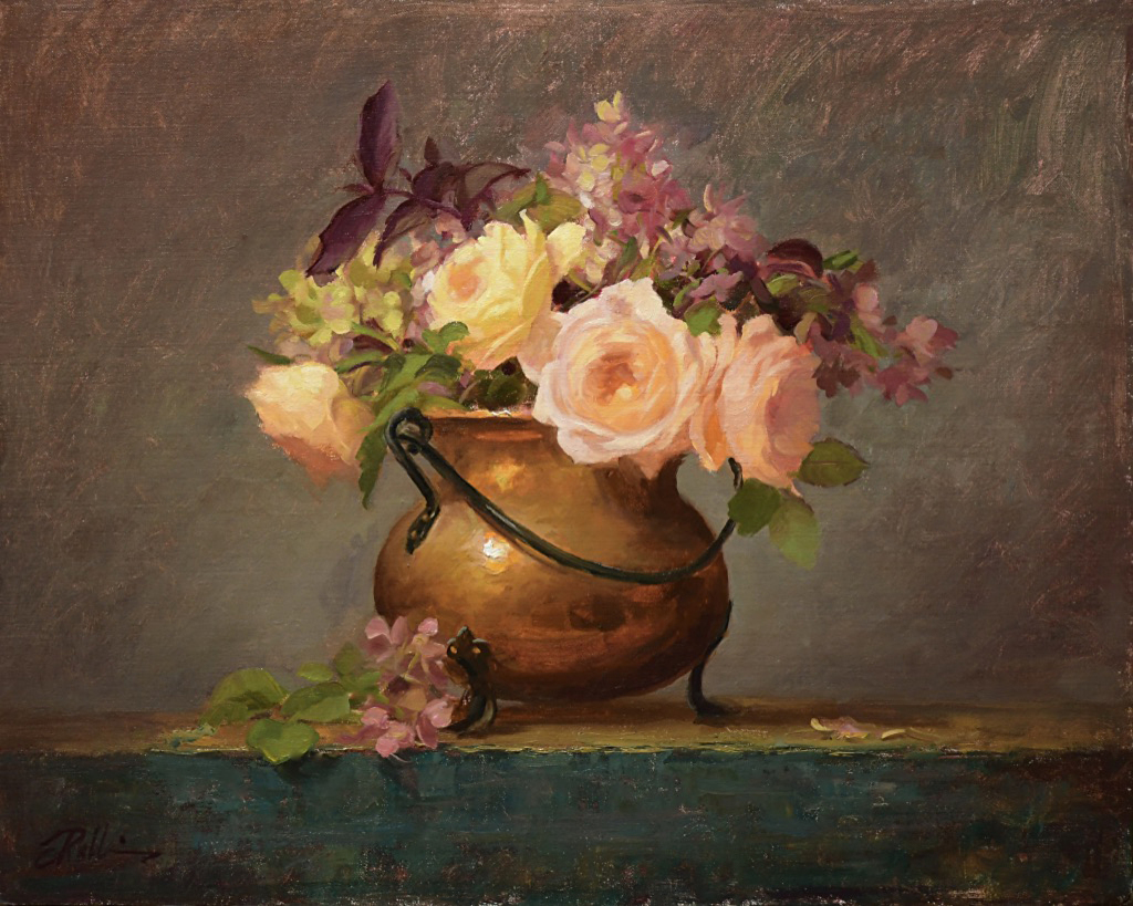 Montgomery-Lee Fine Art | Just Peachy