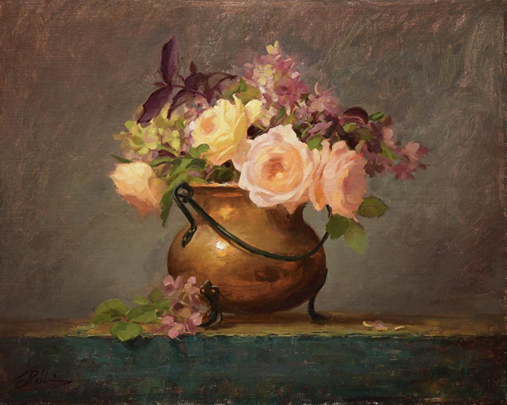 Montgomery-Lee Fine Art   Just Peachy