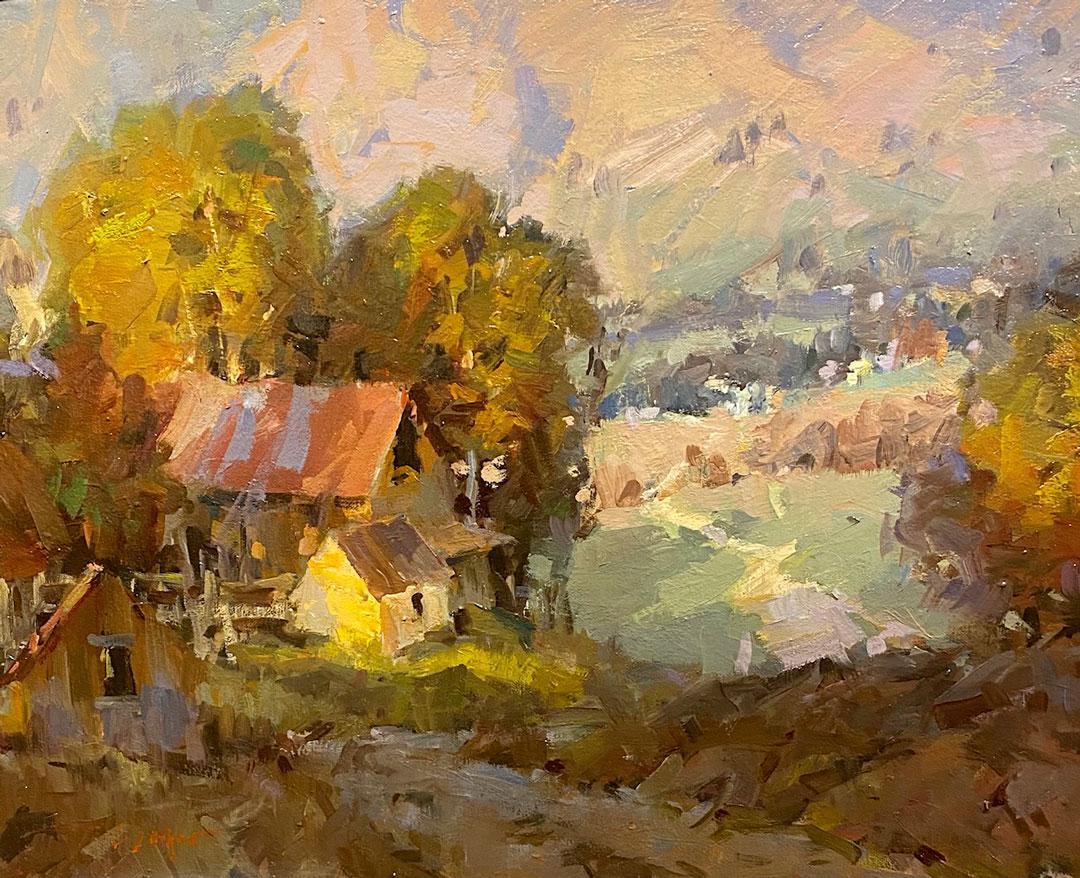 Montgomery-Lee Fine Art   Cache County Farm Study