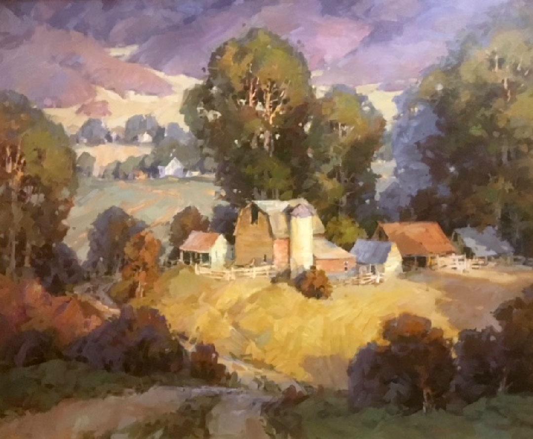 Montgomery-Lee Fine Art   Rich County Farmland