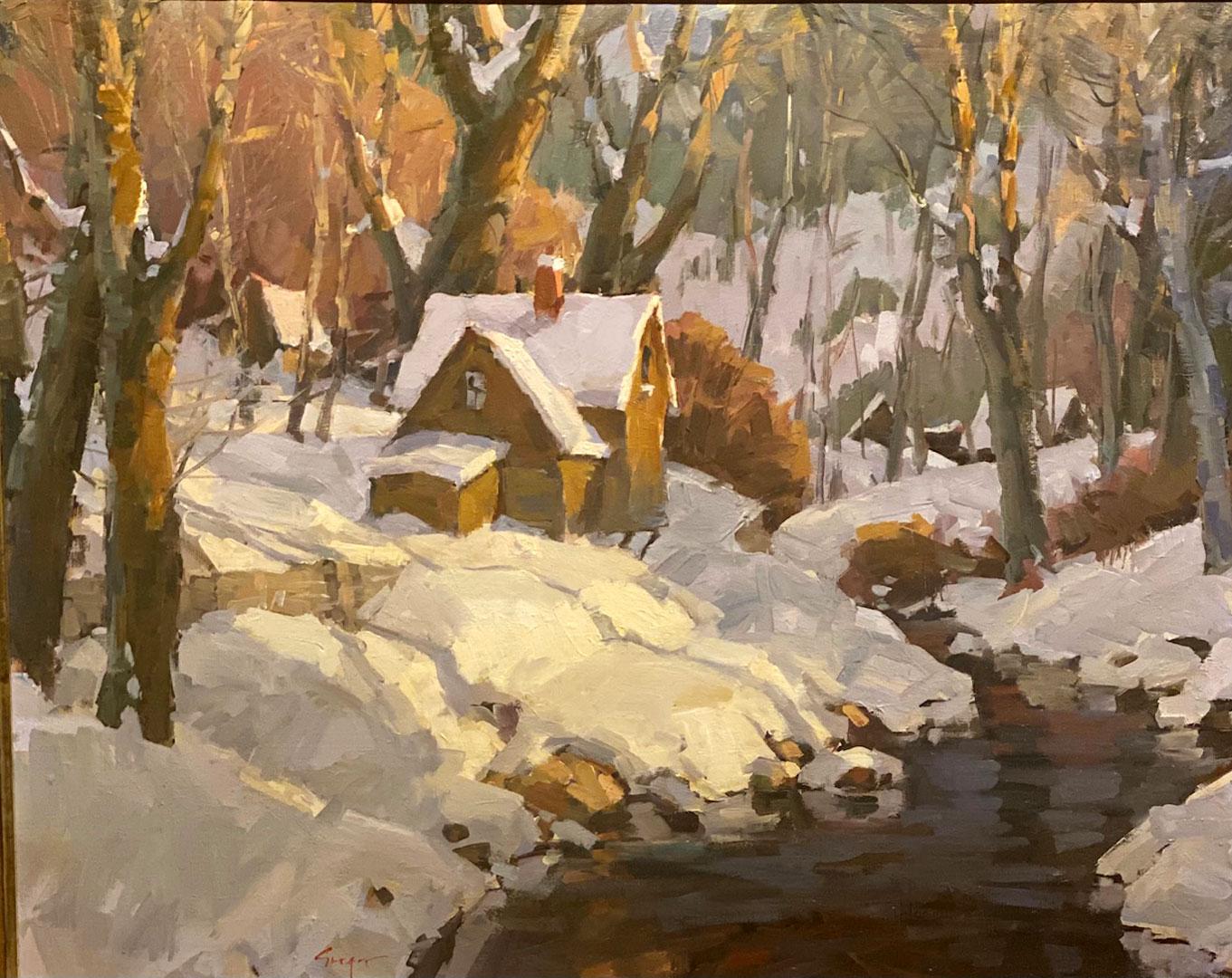 Montgomery-Lee Fine Art   Hermitage Winter
