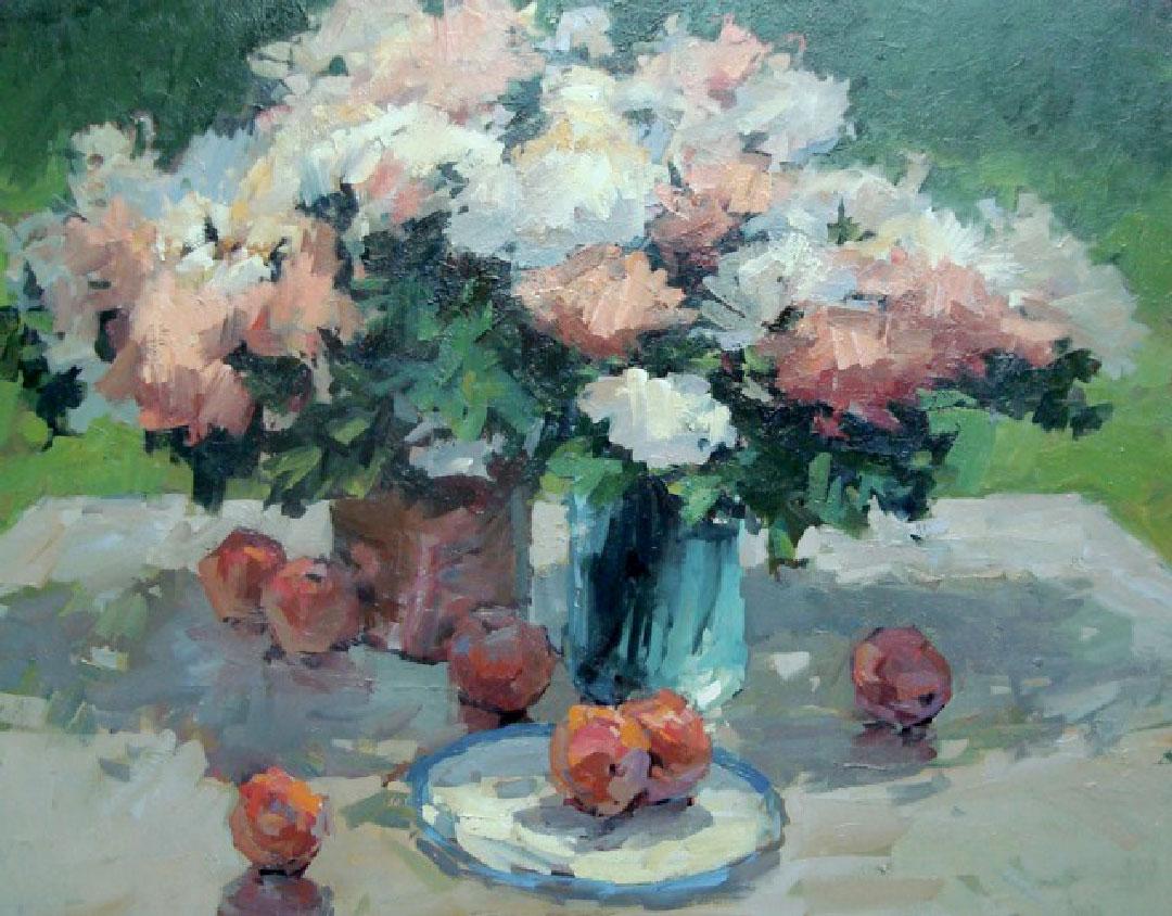Montgomery-Lee Fine Art   Summer Still Life