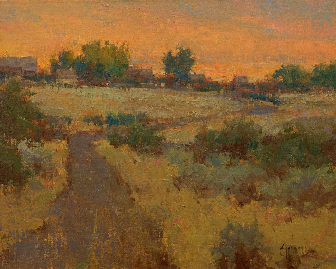 Montgomery-Lee Fine Art | A Bend in the Road