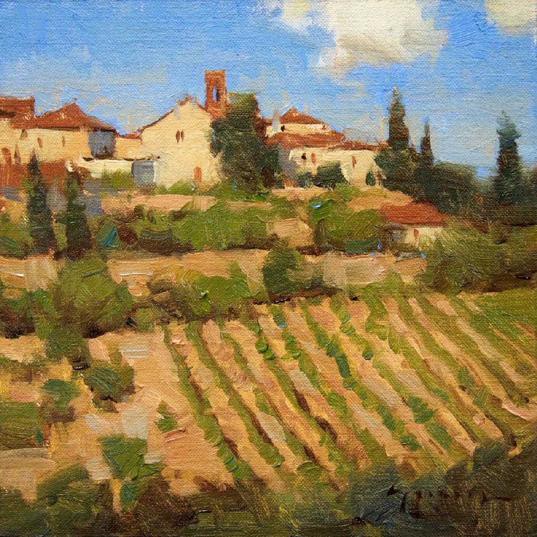 Montgomery-Lee Fine Art   Above the Vineyard