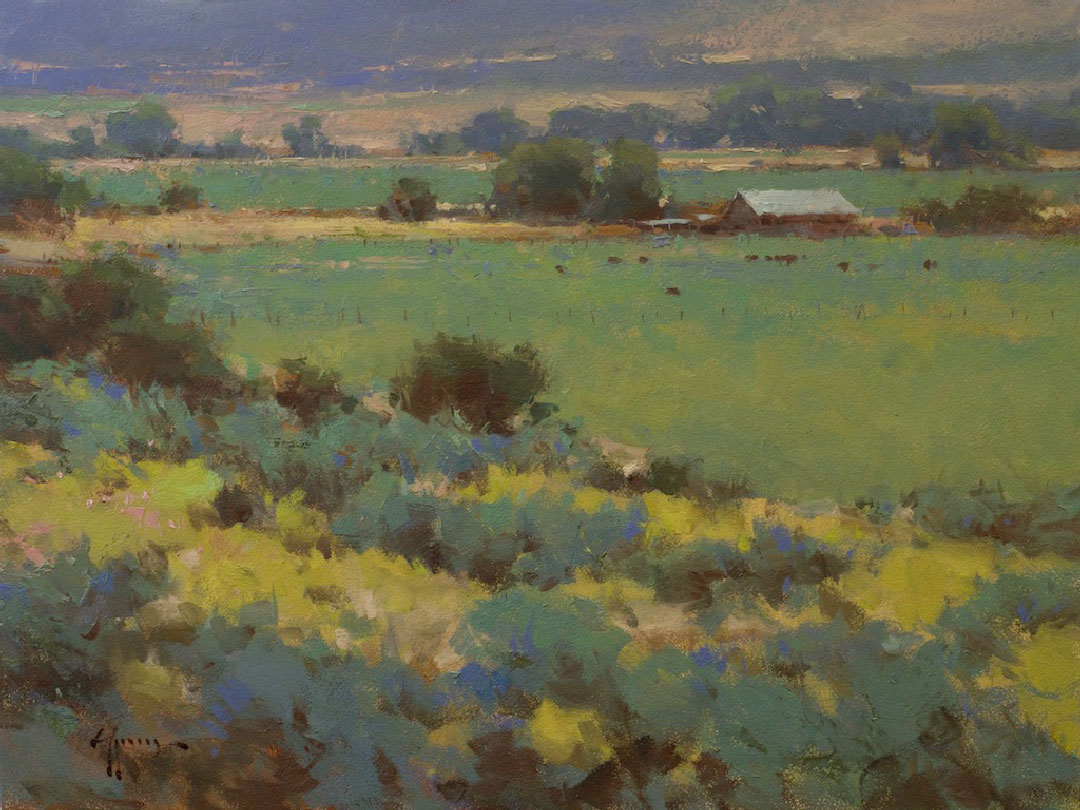 Montgomery-Lee Fine Art | Beyond the Blue Sage