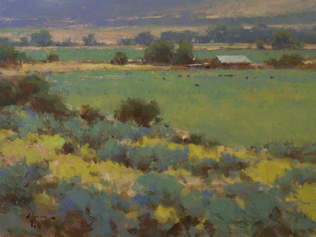 Montgomery-Lee Fine Art   Beyond the Blue Sage