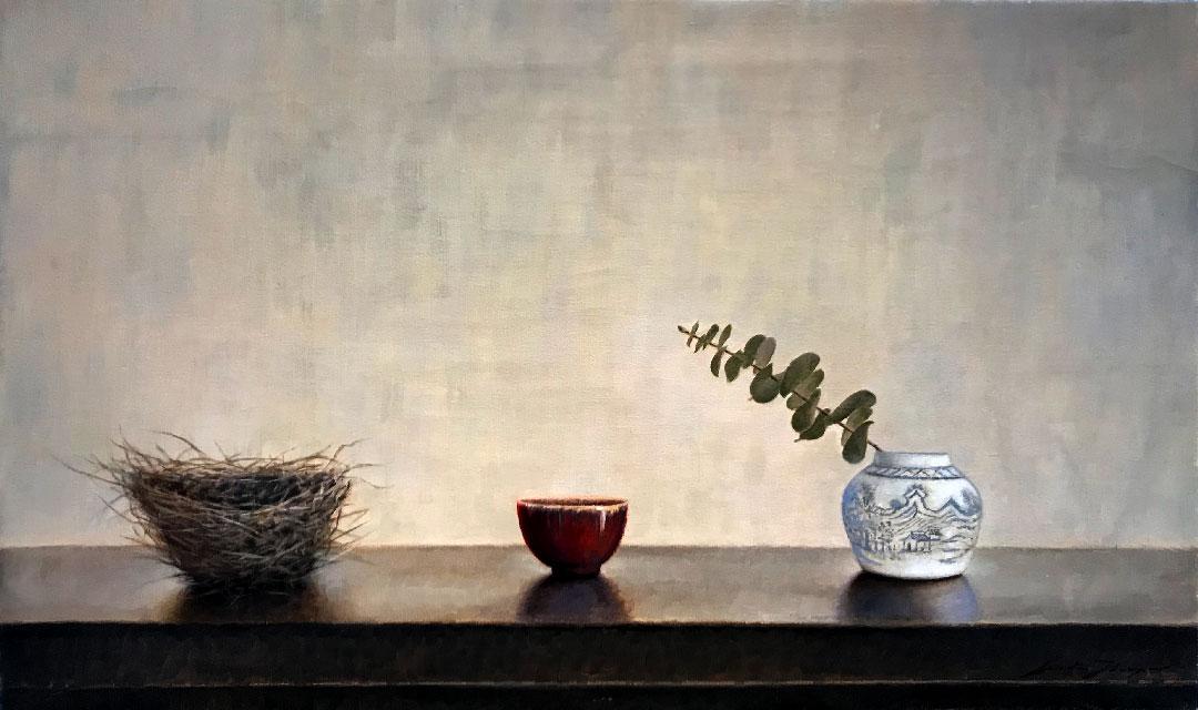 Montgomery-Lee Fine Art   Three Vessels