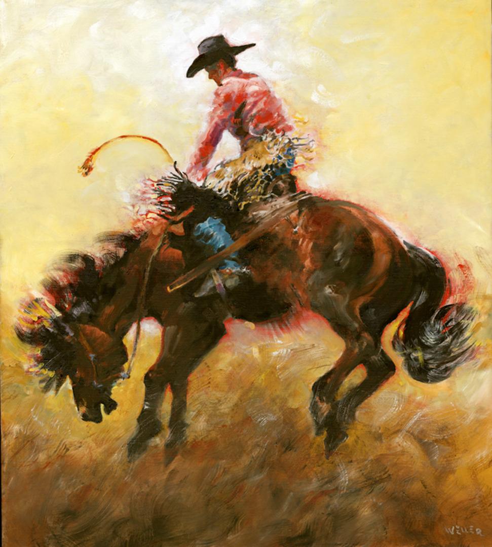 Montgomery-Lee Fine Art   Bronco Study 1