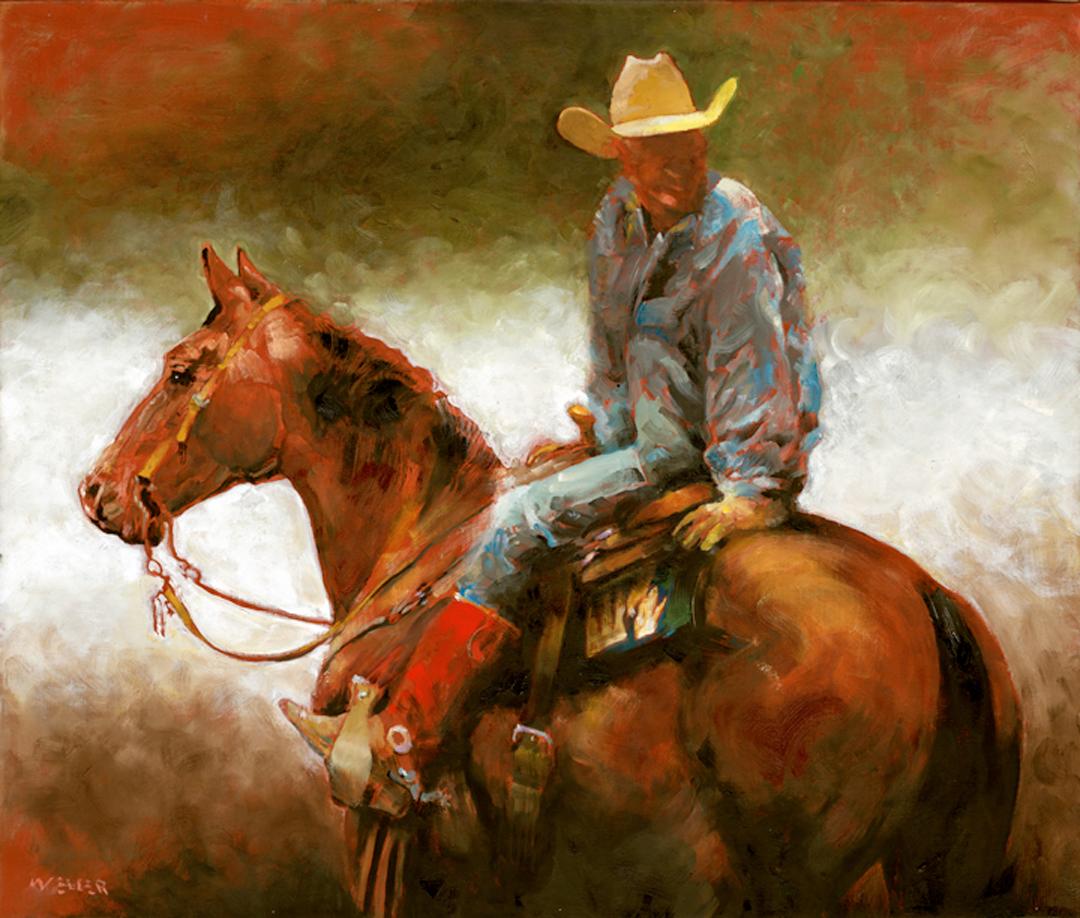 Montgomery-Lee Fine Art   Cowboy Study
