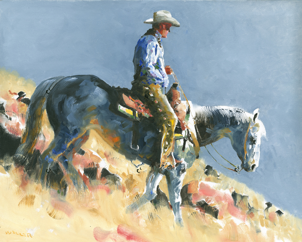 Montgomery-Lee Fine Art | Down the Easter Slope
