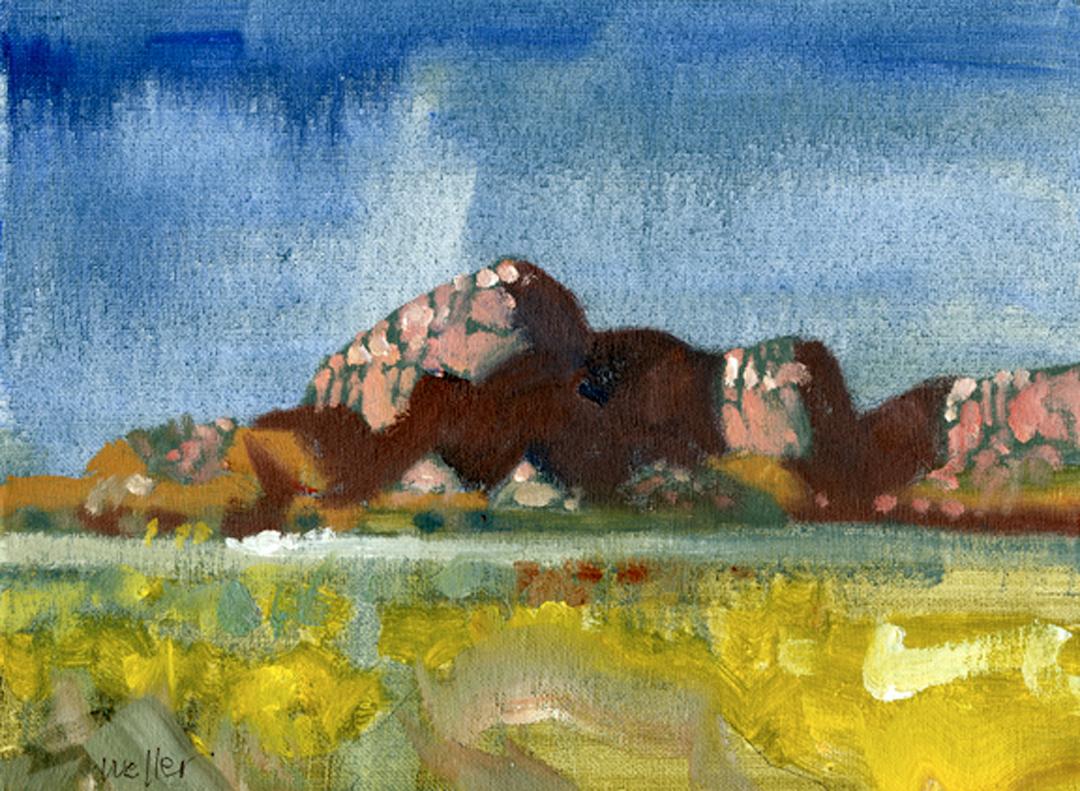Montgomery-Lee Fine Art   Rocks Study 2