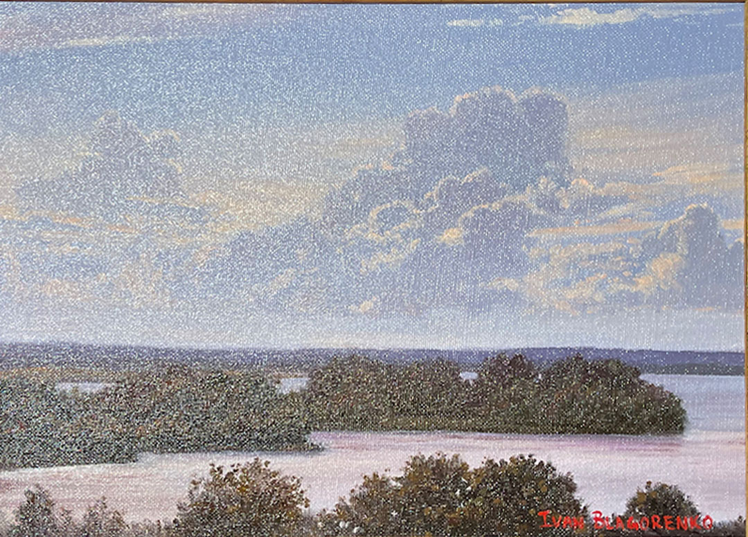 Montgomery-Lee Fine Art   Afternoon Clouds