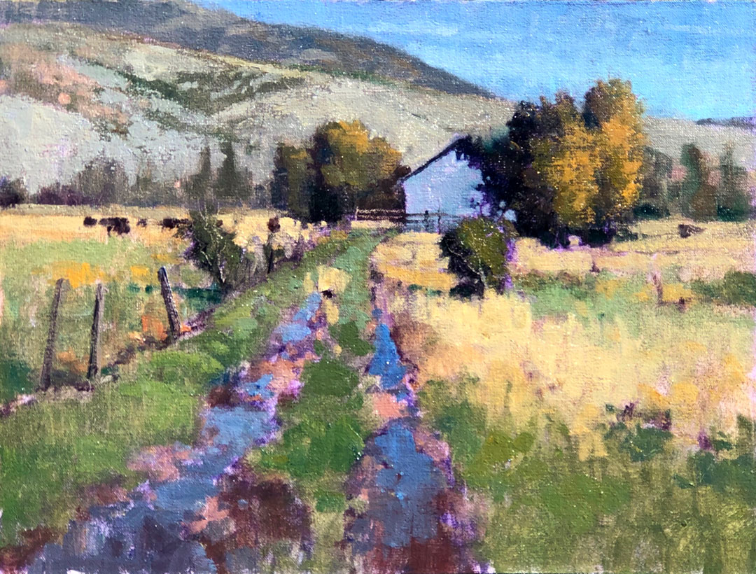 Montgomery-Lee Fine Art | Heber Puddles