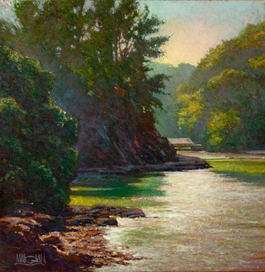 Montgomery-Lee Fine Art   At River's Edge