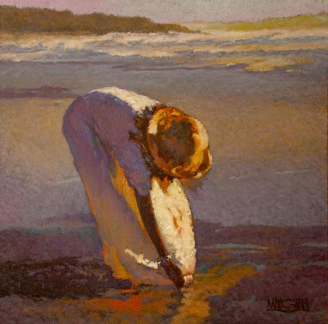 Montgomery-Lee Fine Art   Beach Treasure