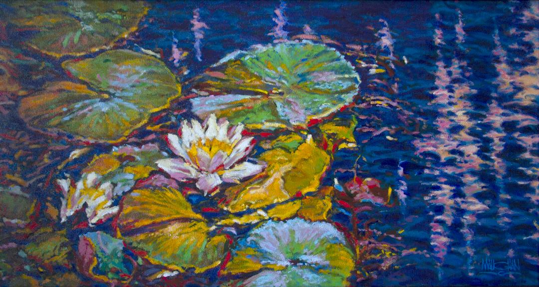 Montgomery-Lee Fine Art   French Garden