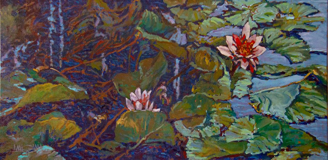 Montgomery-Lee Fine Art | French Garden II