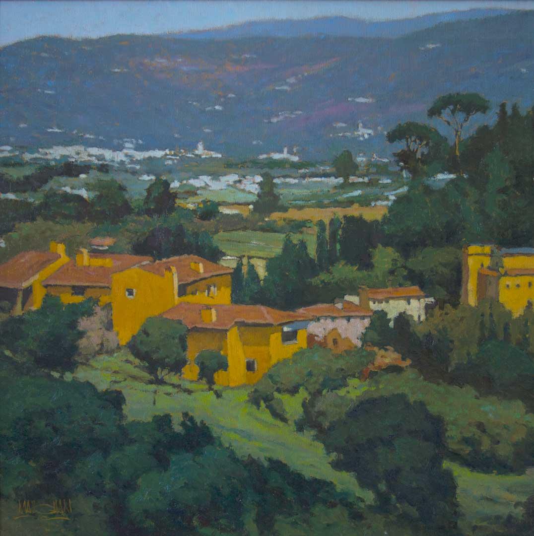 Montgomery-Lee Fine Art   Hills of Florence