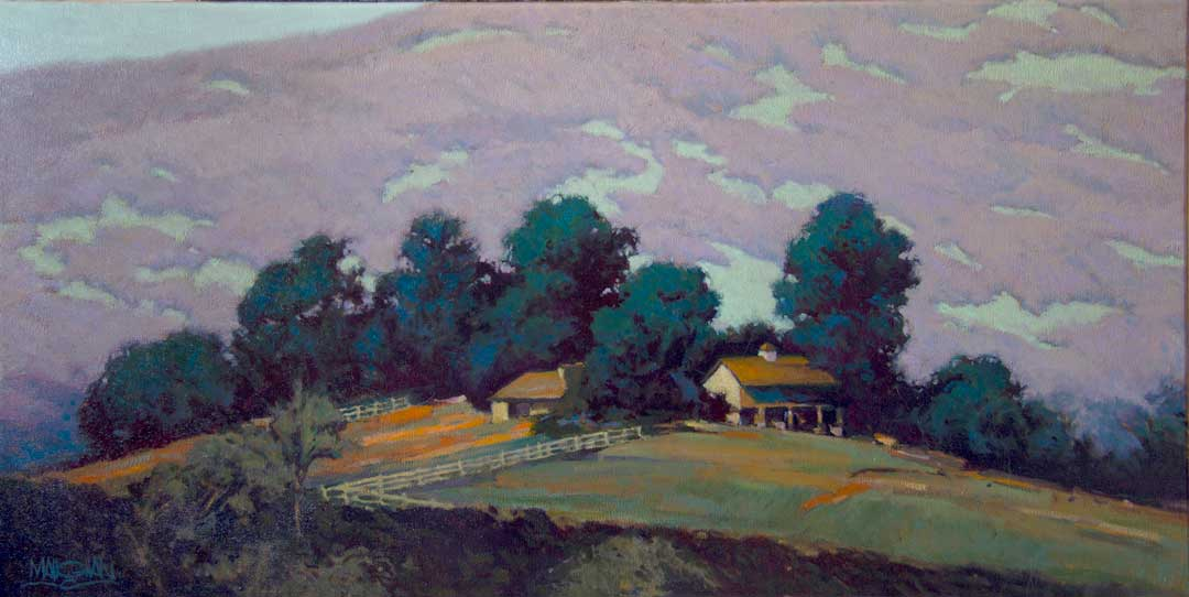 Montgomery-Lee Fine Art | Summer Eve Sunset