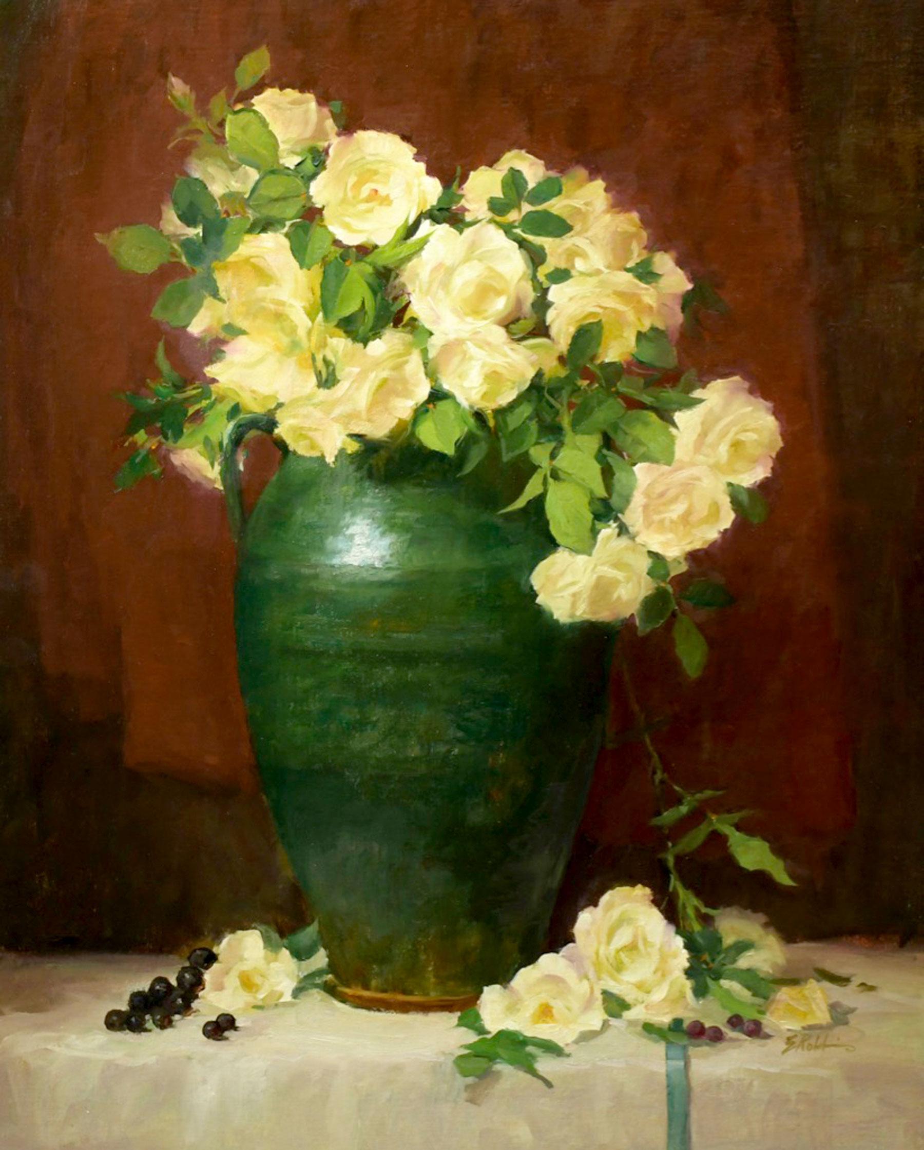Montgomery-Lee Fine Art   White Cascade