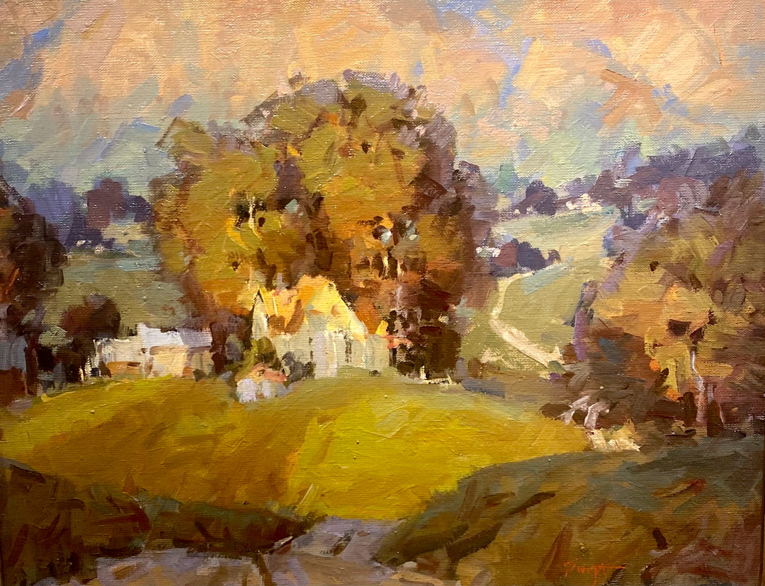 Montgomery-Lee Fine Art   Cache Valley Hills