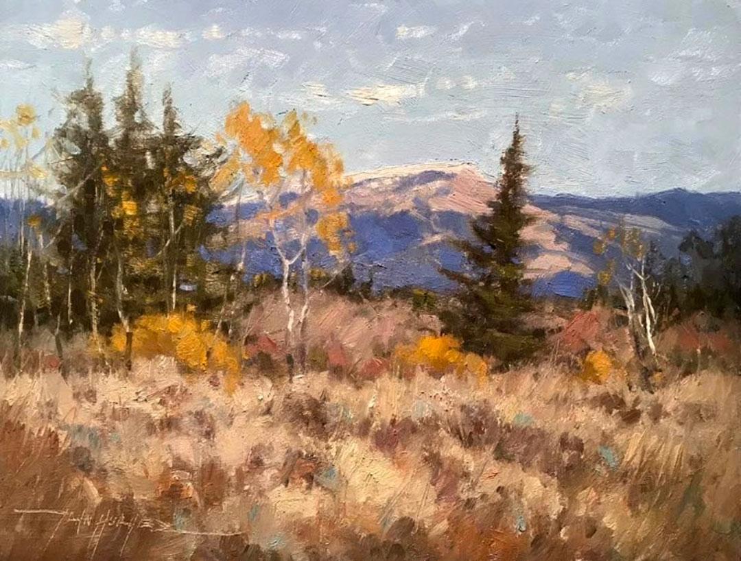 Montgomery-Lee Fine Art   Last Days of Autumn