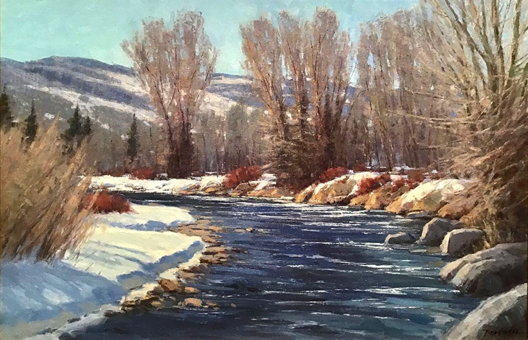 Montgomery-Lee Fine Art   River Bend