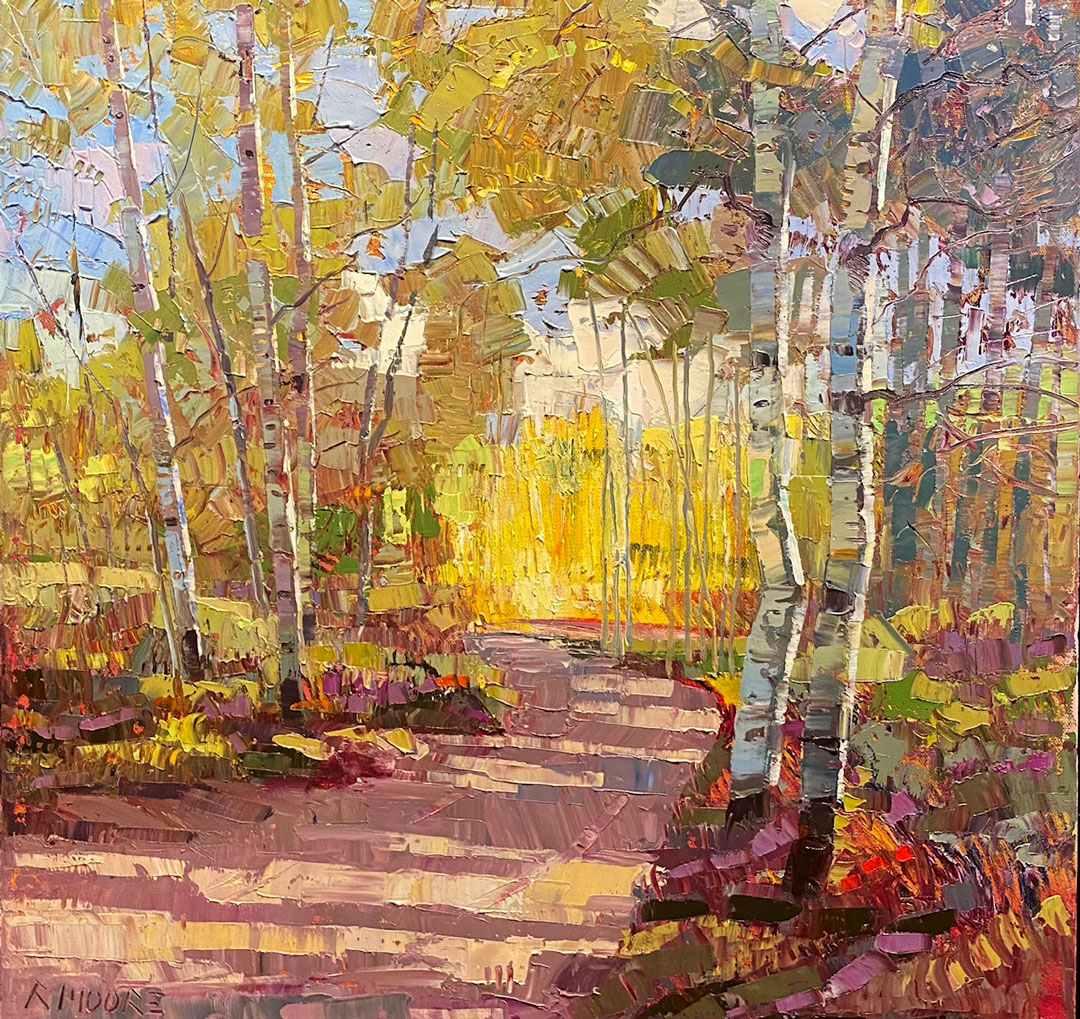 Montgomery-Lee Fine Art   Country Road