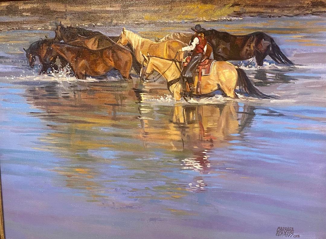 Montgomery-Lee Fine Art   Cheyenne
