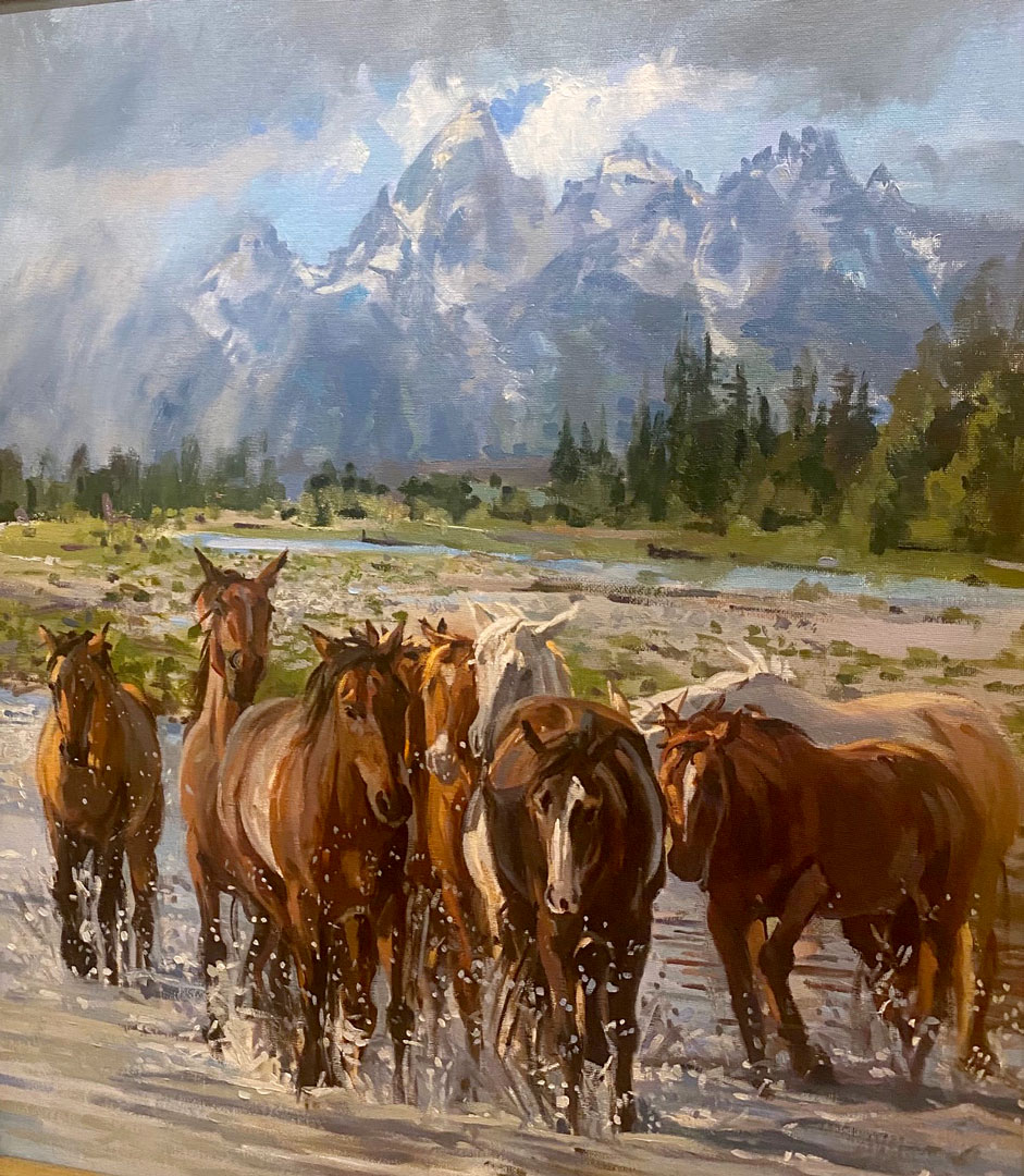Montgomery-Lee Fine Art | Down in the Valley