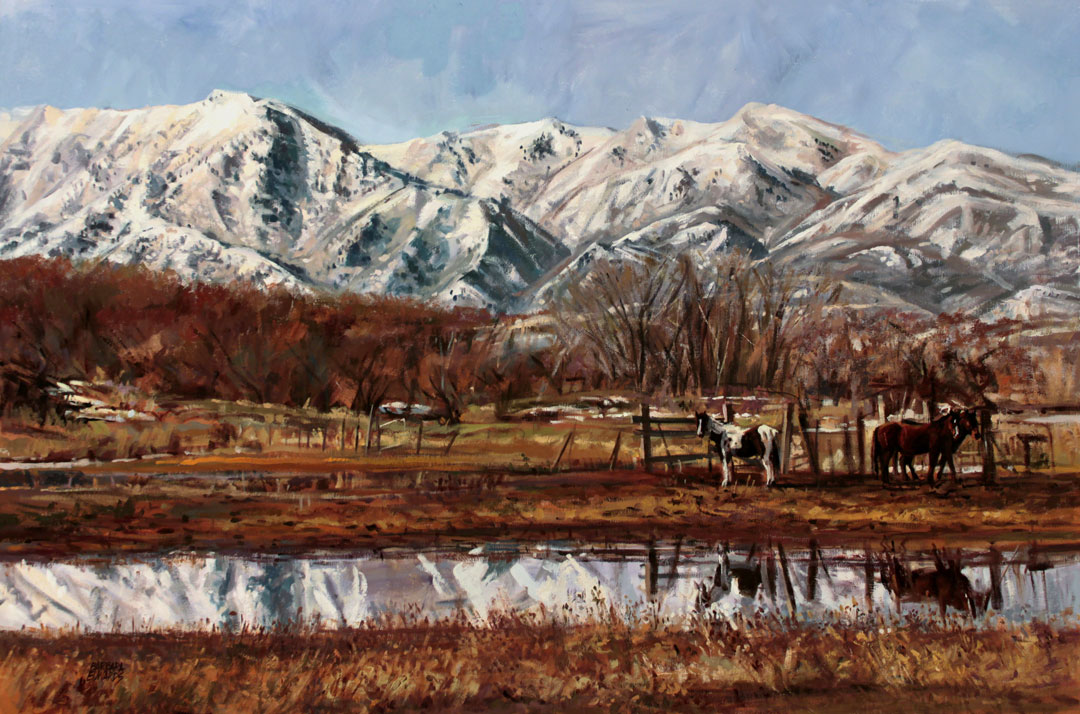 Montgomery-Lee Fine Art   March Thaw