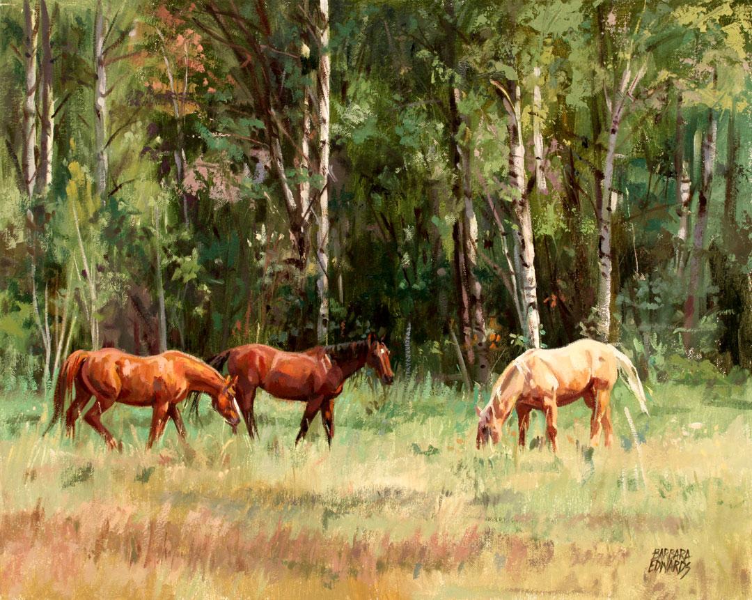 Montgomery-Lee Fine Art   Salt River Pasture