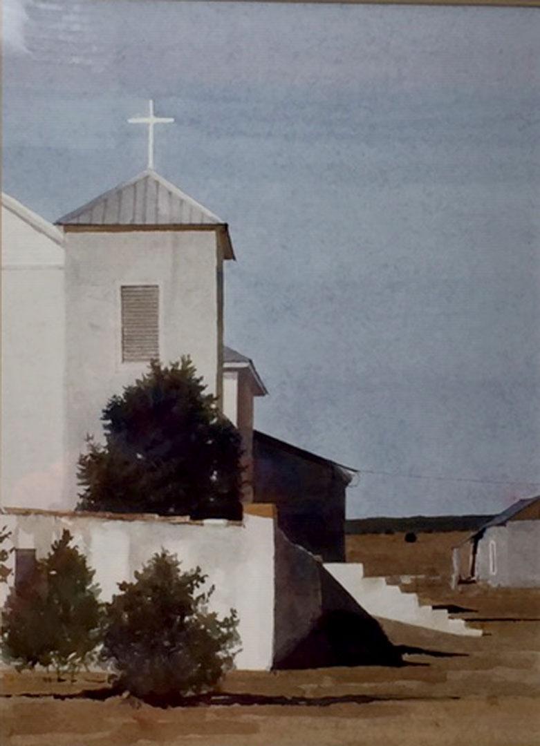 Montgomery-Lee Fine Art   Little White Church