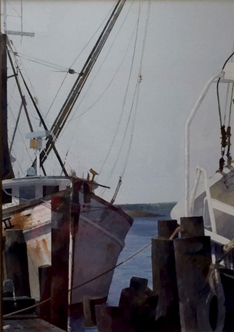 Montgomery-Lee Fine Art   The Boats
