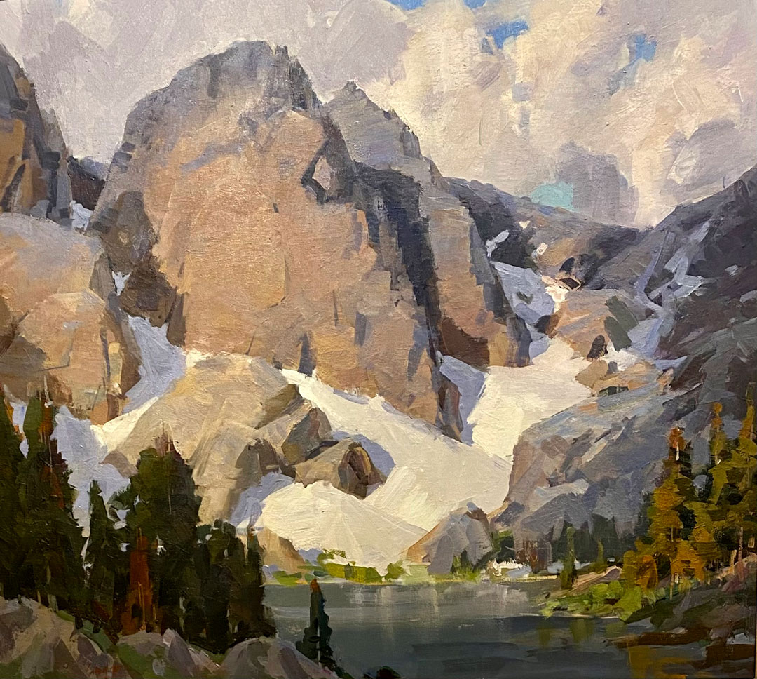 Montgomery-Lee Fine Art   Hidden Lake