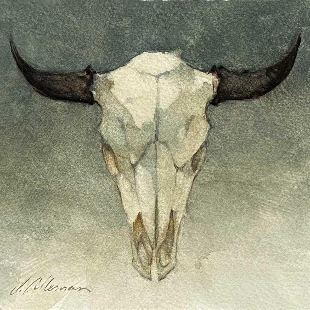 Montgomery-Lee Fine Art   New West Bison