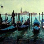 Gondolas at Saint Mark's Piazza