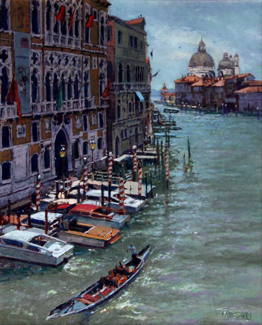 Montgomery-Lee Fine Art   Noon on the Grand Canal