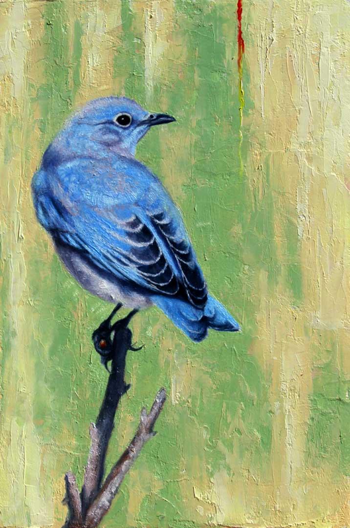 Montgomery-Lee Fine Art | Blue Bird Right