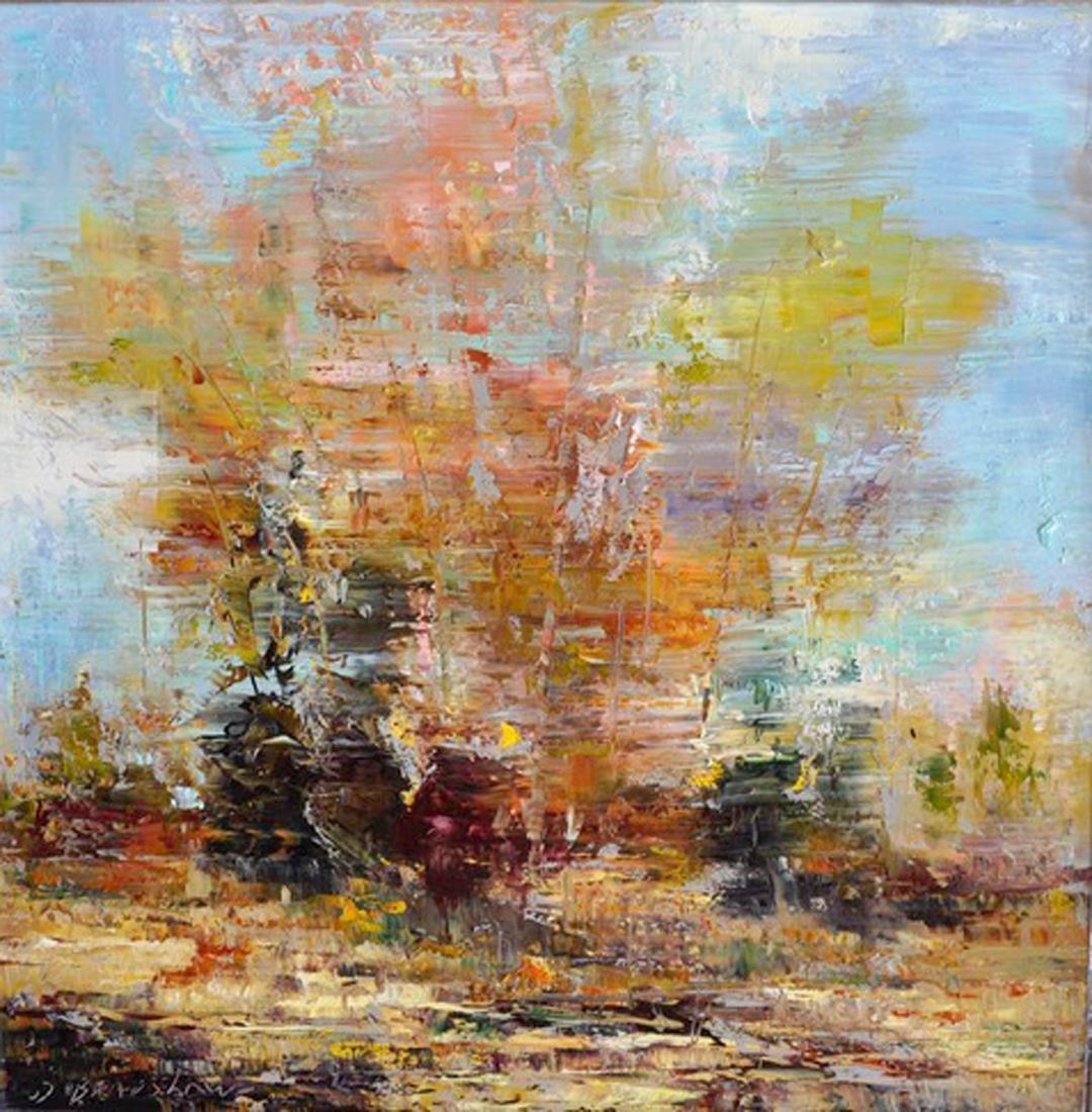 Montgomery-Lee Fine Art   Abstract Landscape